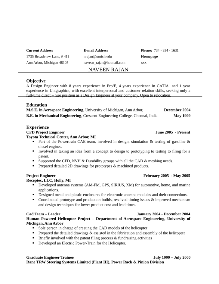 Basic Design Engineer Resume  Design Engineer Resume