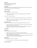 Basic Editorial Assistant Resume