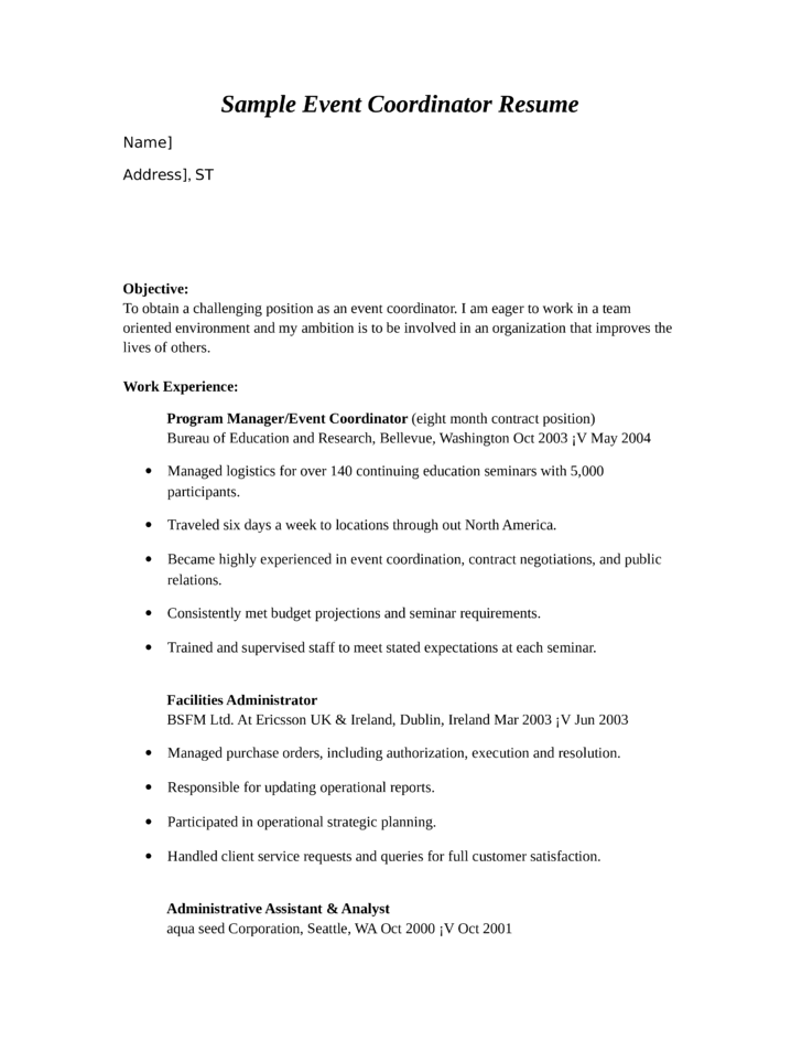 Missouri Continuing Education Resume Examples Find The Sample Resume ...