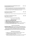 Free resume for training manager