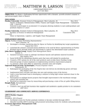 Basic VP of Finance Resume