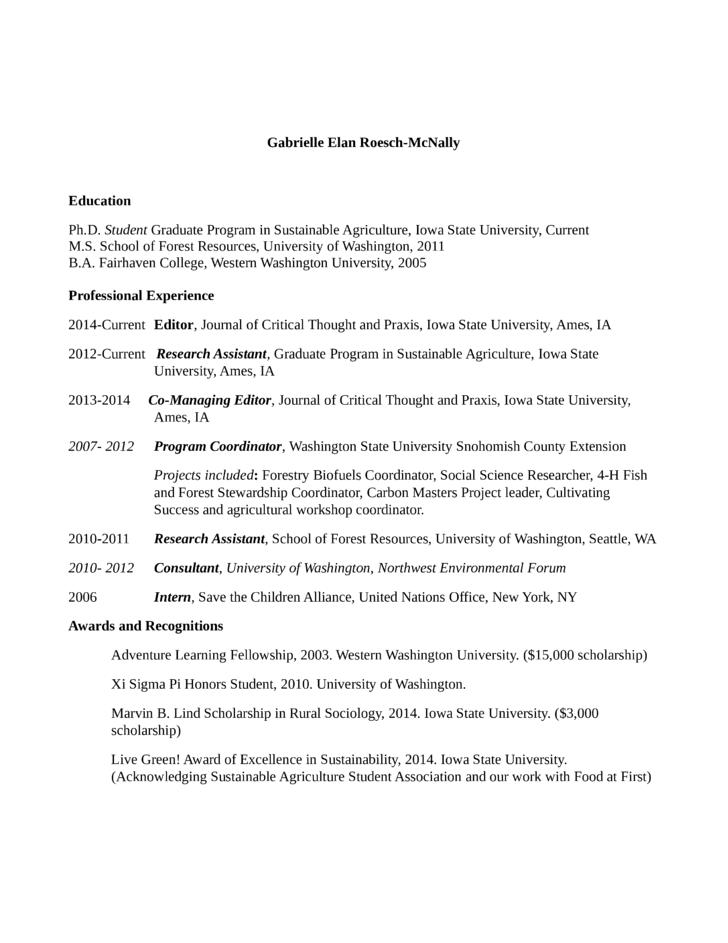 program specialist resume cover letter