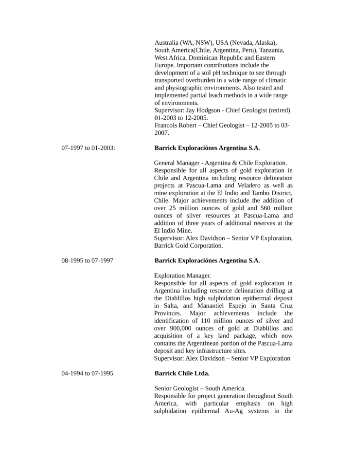Chronological Geologist Resume Example Page3