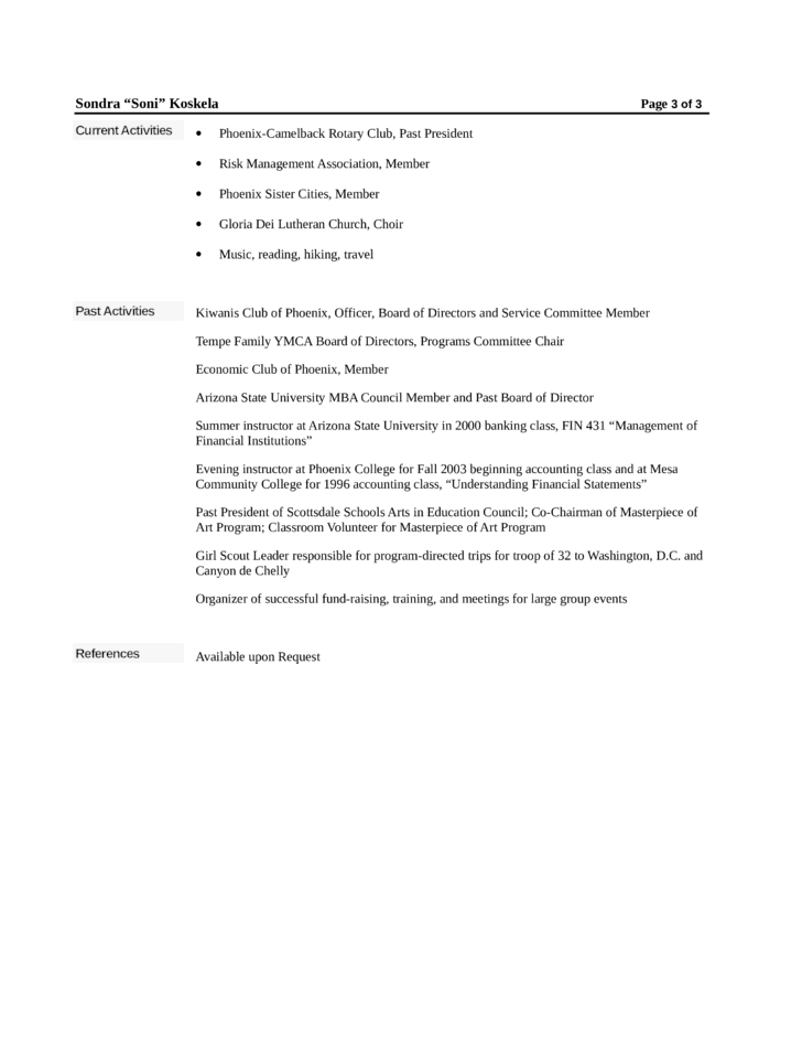 chronological loan officer resume example template