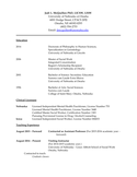 Chronological Medical Worker Resume Examples