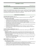 Chronological Mortgage Loan Officer Resume