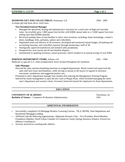 Chronological Mortgage Loan Officer Resume Page2