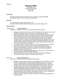 Chronological Systems Analyst Resume
