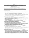Chronological Youth Department Sales Manager Resume