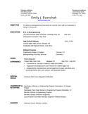 Clean Lifeguard Resume