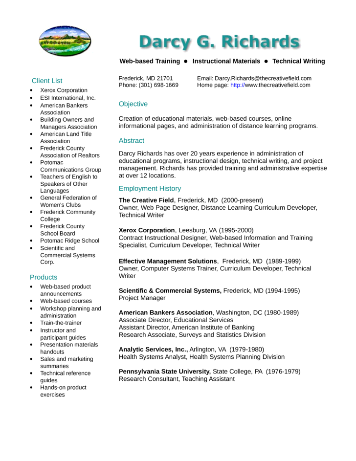 clean training specialist resume example template