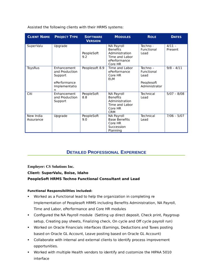 creative benefits administrator resume template