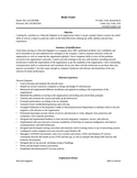 Entry Level & Freshers Network Administrator Resume