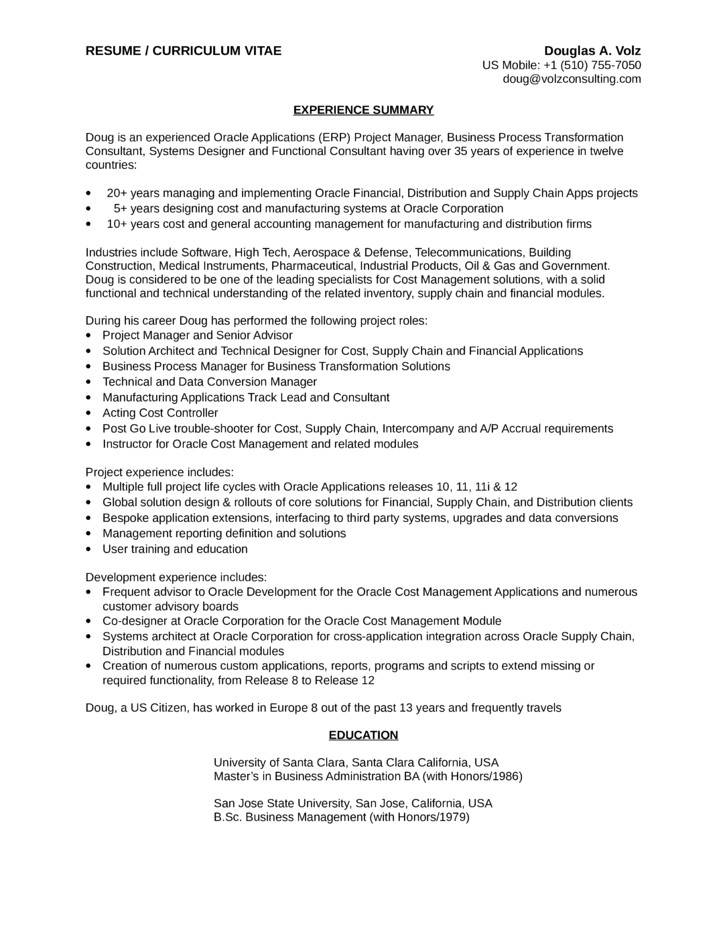 Business analyst process improvement resume