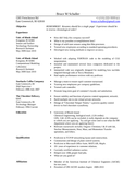 Executive Engineering Manager Resume