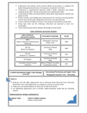 Executive Logistics Manager Resume Page2