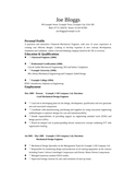 Executive Mechanical Engineer Resume
