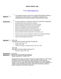 Executive Project Manager Resume