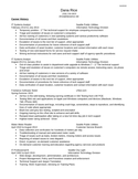Executive Systems Analyst Resume