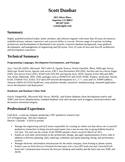 Executive VP of Engineering Resume