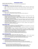 Executive Zoning Enforcement Inspector Resume