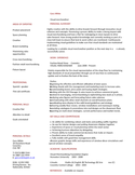 Functional Merchandiser Resume