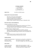 Functional Office Assistant Resume