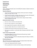 Functional Paralegal Resume