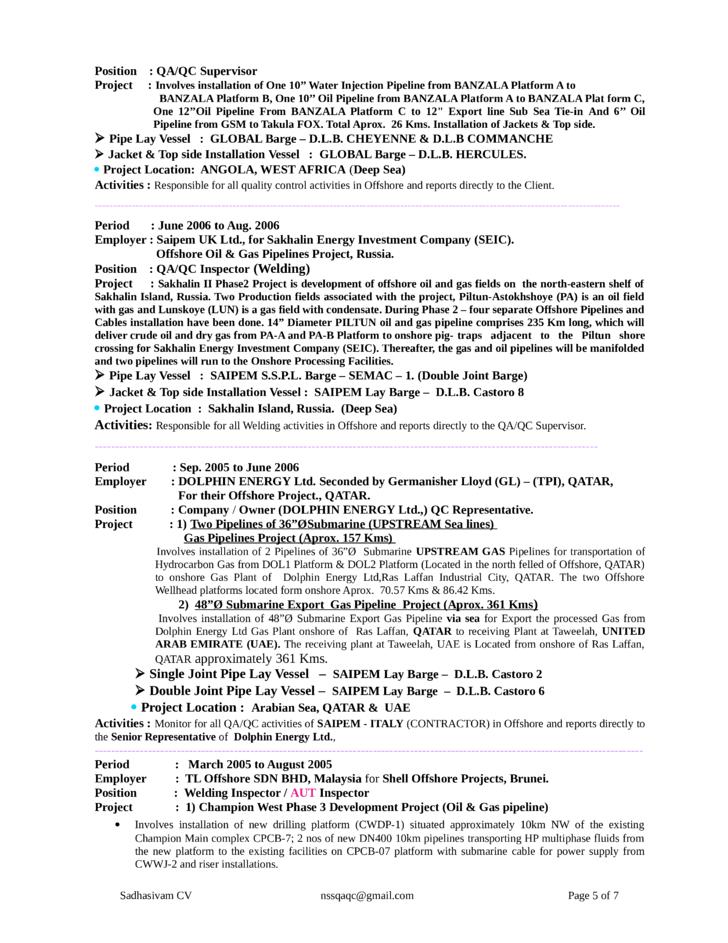 Welder Resume welder resume sample Functional Welder Resume Page5
