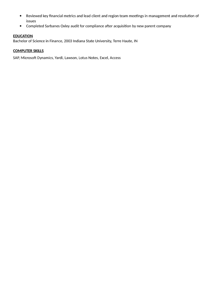 computer sales specialist resume