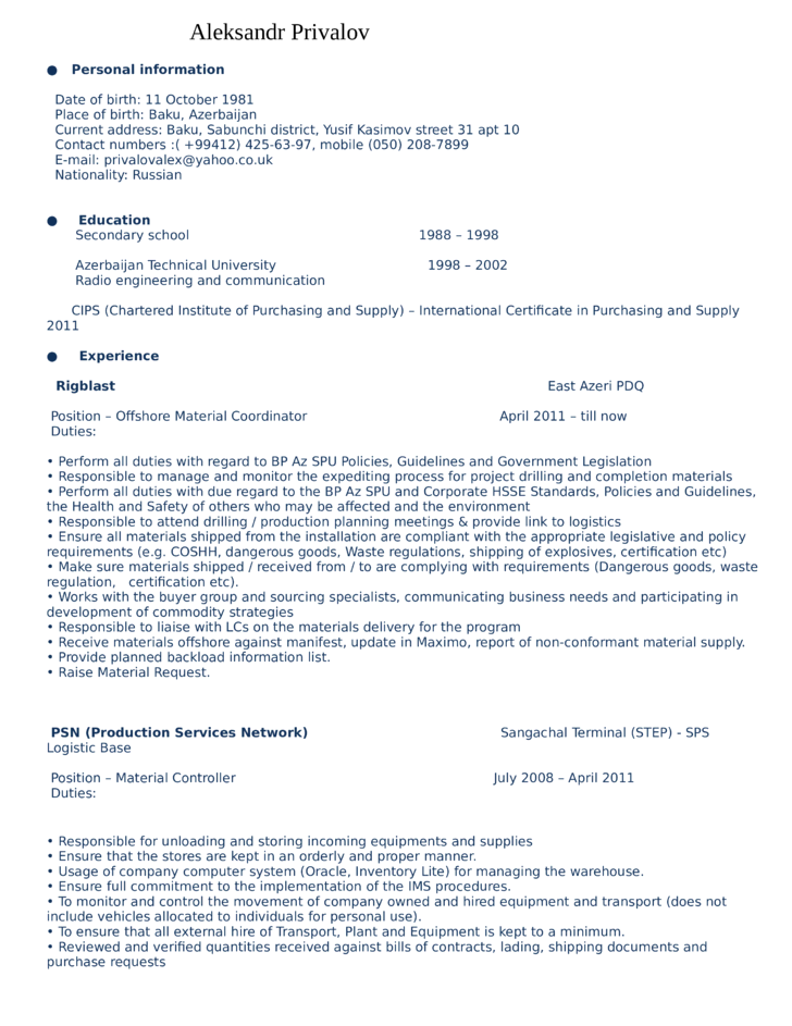 resume help for warehouse specialist ssays for sale - Warehouse Specialist Resume
