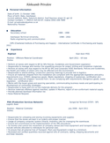 modern warehouse specialist resume - Warehouse Specialist Resume