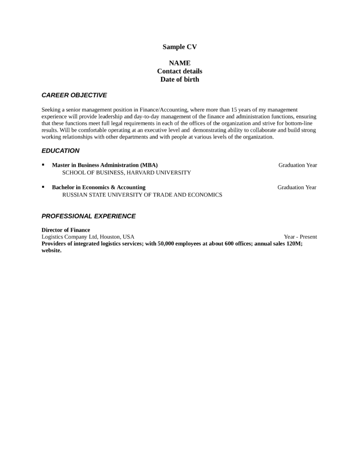 professional assistant controller resume template