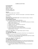 Professional Civil Engineer Resume