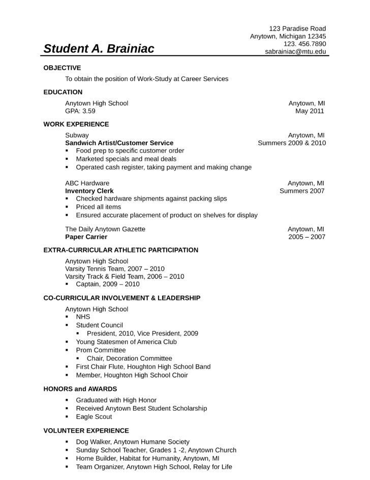 professional food service worker resume - Resume Food Service Worker