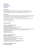 professional graphics designer production artist resume template    professional graphics designer production artist resume