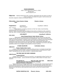 Professional Grooming Salon Manager Resume