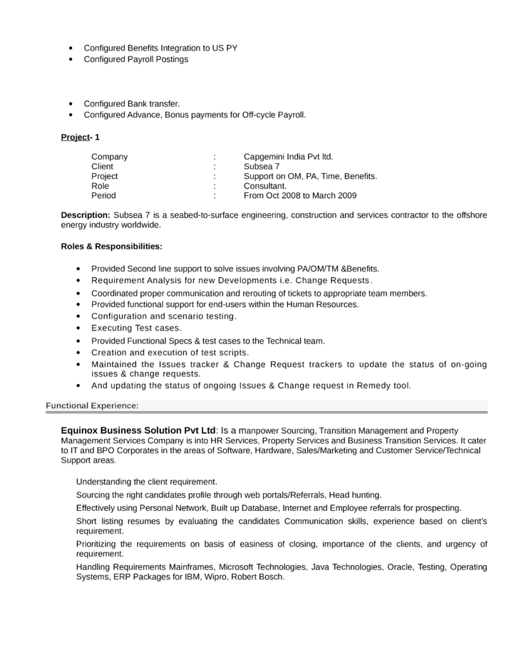 professional hr consultant resume 28 images management
