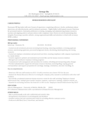 Professional HR Specialist Resume