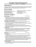Professional Industrial Engineer Resume