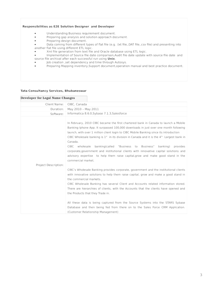 sample cognos resumes sample cognos analyst resume page 004 ...