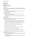 Professional Inspector Resume