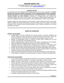 Professional IT Project Manager Resume