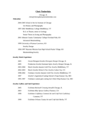 Professional Jeweler Resume Example