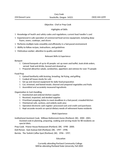 Professional Kitchen Assistant Resume