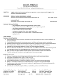 Professional Kitchen Bath Department Supervisor Resume