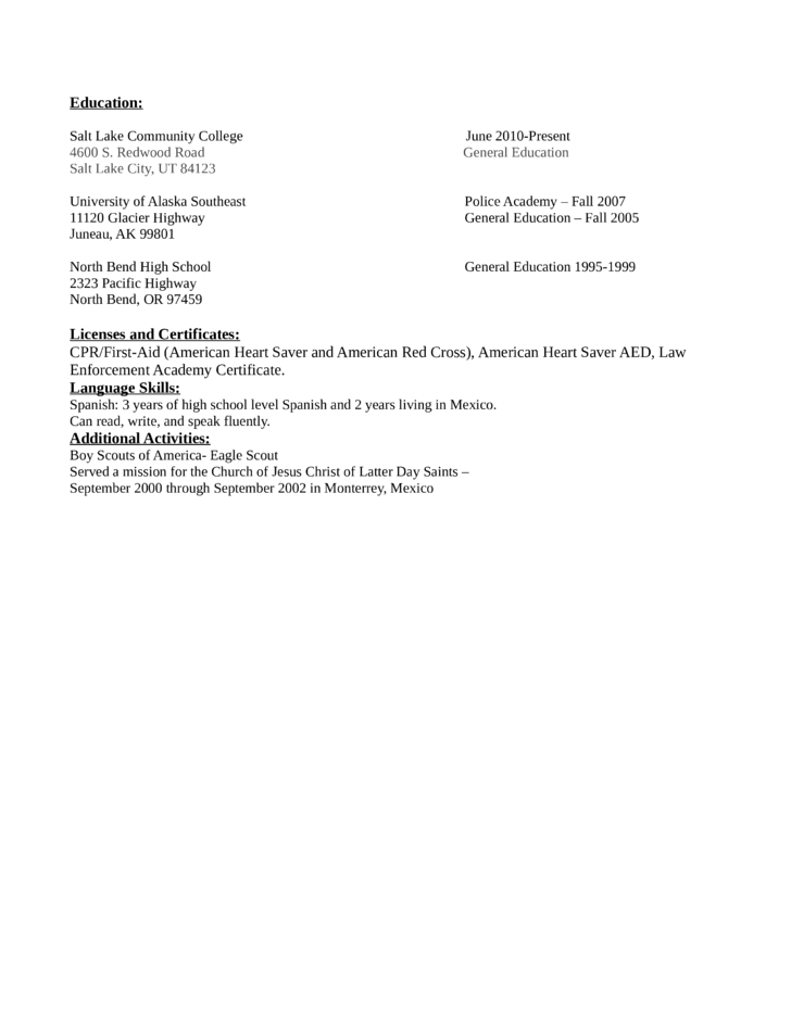 professional lead asset protection associate resume template
