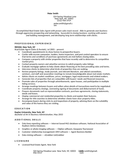 Professional Leasing Agent Resume