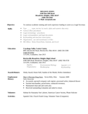 Professional Legal Secretary Resume