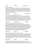 Professional Nanny Resume
